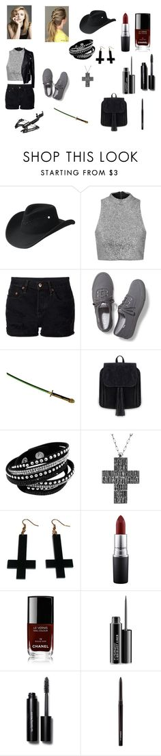 """""""Clara Peletier(The Walking Dead)Outfit"""" by katiemorelan ❤ liked on Polyvore featuring Bailey Western, Topshop, NSF, Keds, OPENJART, Chicnova Fashion, MAC Cosmetics, Chanel, Bobbi Brown Cosmetics and Alexander McQueen"""