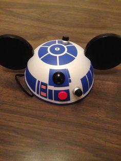 Star Wars R2D2 Mickey Mouse Ear Hat