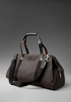 885d6ce44 JACK SPADE Waxwear Soft Duffle Bag in Chocolate - Svpply Jack Spade, Canvas  Leather,
