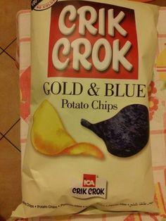 Blue potatoes!