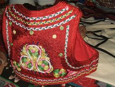 Albanian - woman's embroidered vest