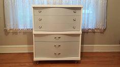 Best Vintage Bassett 50 S Blonde 4 Drawer Chest Dresser Chicago Pick Up Only Bassett 199 My 640 x 480