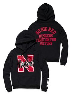 i need a husker hoodie..perfect!