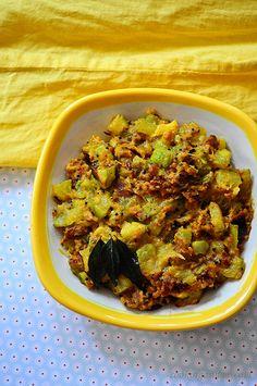 Zucchini Besan Sabji (No Onion No Garlic) - Jain Friendly Recipes