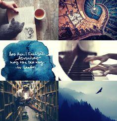 Harry Potter + aesthetics: Ravenclaw.