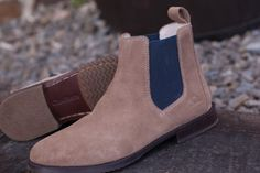 A modern suede Chelsea boot, Verona provides the essence of style, you provide the feet to wear them.