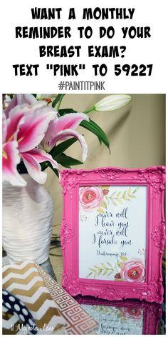 Cancer & Chemo Gift Idea #PaintItPink