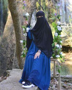 Face Veil, Beautiful Hijab, Niqab, Muslim Fashion, Muslim Women, Photos, Hair Beauty, Gold Jewelry, How To Wear