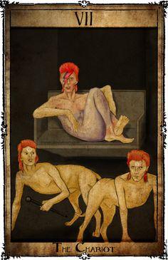 Bowie Tarot Collection - VII - The Chariot by Triever.deviantart.com on @DeviantArt