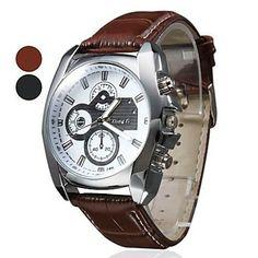 Мужские аналоговые кварцевые часы (разные цвета) – EUR € 6.25