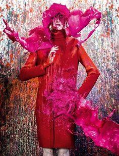 It never rains but pours Photo of Katia Selinger by Gustavo Zylbersztajn for Elle Brasil
