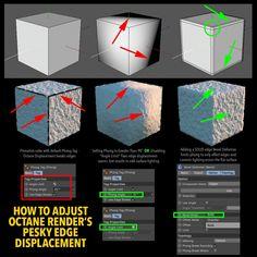 How to fix Displacement broken edges