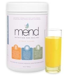 Mend medical dietary supplement #packaging
