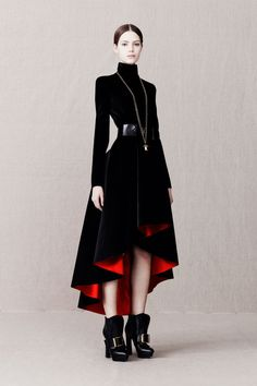 Alexander McQueen - Pre Fall 2014 Congrats, Ms Burton, McQueen must be proud,