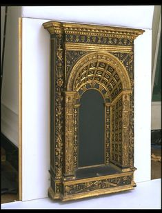 Italian circa 1475-1500 Poplar and oak, carved, water gilded and originally polychromed.