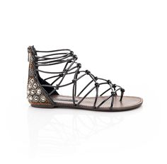 cute and strappy sandals - the embroidery and beading on the backs is so cute and boho