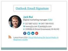 Image result for email signature icons