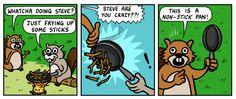 Non-stick pan(comic by Pandyland)