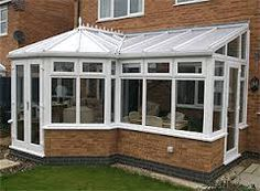 Image result for conservatory shapes and sizes Lean To Greenhouse, Sunrooms, Greenhouses, Conservatory Ideas, New Homes, Outdoor Structures, Windows, Garden Sheds, Bungalows
