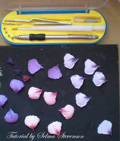 This isa card I created with flower punches. I thought I would give you a little tutorial on how I create these flowers because they are s...