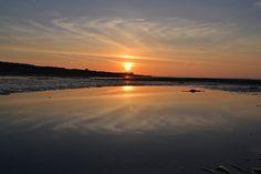 Early Morning Sunrise Reflection.
