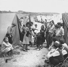 The Ma'abarot (Hebrew: מַעְבָּרוֹת plural) were refugee absorption camps in Israel in the 1950s. The Ma'abarot were meant to provide accommodation for the large influx of Jewish refugees and new Olim (Jewish immigrants) arriving to the newly independent State of Israel, replacing the less habitable immigrant camps or tent cities. The ma'abarot began to decline by mid-1950s and were largely transformed into Development Towns. The last Ma'abara was closed in 1963.