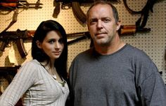 Sons of Guns - these two are awesome... they remind me of the characters from the movie Armageddon, but these folks are REAL.