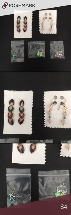 EARRING BUNDLE NEVER WORN. earring bundling of earring i'm not sure why i have haha. tags: forever 21, h&m, hot topic Forever 21 Jewelry Earrings