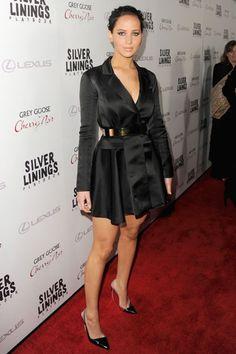 The Best Little Black Dresses of 2012 - Jennifer Lawrence in Christian Dior