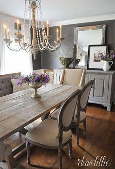 Sala da pranzo provenzale: 29 idee stile provenzale   Cottage style ...