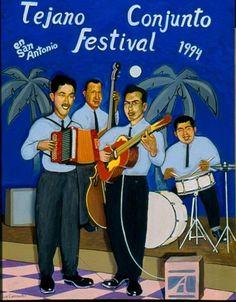 1994 TCF winner. Los Caminantes de Richard Herrera. Flaco Jiménez, Fred Zimmerle, Mike Garza. Acordeón y bajos exto.
