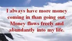 money affirmations #lawofattraction #money #affirmation #wealth #abundance #success http://www.lawofattractionhelp4u.com/