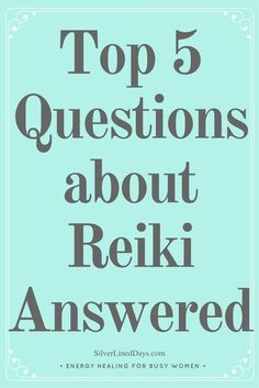 There's been a lot of hype around the health benefits of Reiki energy healing despite the holistic practice having been around for centuries.   Today, I'm answering the top 5 most commonly asked questions about Reiki that I've come across as a Reiki practitioner.   reiki healing | law of attraction | reiki energy | reiki benefits | holistic healing | manifestation | chakra balancing | balance chakras | chakra clearing | clear chakras | holistic wellness