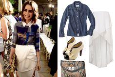 How to Dress Like Lily Collins, Cheap Fashion, Style Ideas | Teen.com