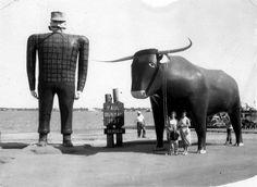 Paul Bunyan roadside attraction 8. Best roadside attraction #EsuranceDreamRoadTrip