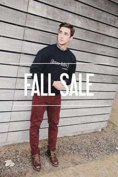 Suit up for the Fall. Discounts available on selected items.