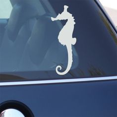 Seahorse Decal  Sea Horse Vinyl Decal For Car Window by urbandecal, $6.95
