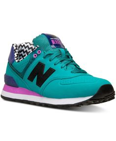 new balance women's 574 heathered casual sneakers