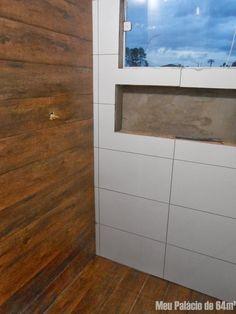 banheiro porcelanato madeira - Google Search