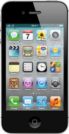 On sale now Apple iPhone 4 (Black) (Factory Unlocked) - TrackIf Iphone 4s, Apple Iphone, Used Iphone, Ipod, Smartwatch, App Store, Mobiles, Cool Pins, Tablets