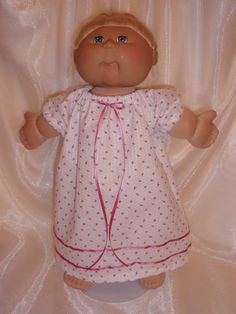 Cabbage Patch Summer Nightgown by Karensdollkreations on Etsy
