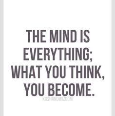 The mind...