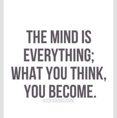 The mind...