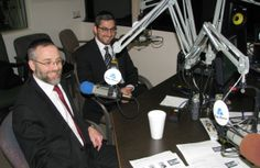 Rabbi Raphael Leban (l) and Rabbi Ahron Wasserman of The Jewish Experience, which is the focus of the January 26, 2014 edition of Radio Chavura.