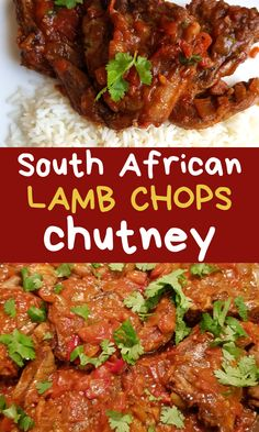 I am so glad I found this easy lamb chops chutney recipe! This reminds me of back home South African chops chutney dinner recipe. Even my husband can't get enough of this lamb loin chop dinner ideas and keeps asking me to make it again and again! Curry Recipes, Lamb Recipes, Mince Recipes, Fun Recipes, Keto Recipes, Lamb Loin Chops, Quick Casseroles, Braai Recipes, Lamb Dinner