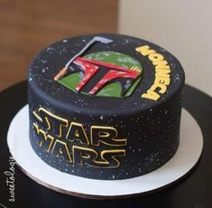 New birthday cake for boyfriend star wars Ideas Birthday Cakes For Men, Birthday Cake For Boyfriend, Star Wars Birthday Cake, New Birthday Cake, Birthday Cupcakes, Boyfriend Cake, Birthday Ideas, Birthday Design, 8th Birthday