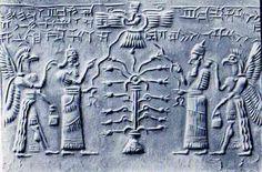 La porte des Dieux ! Ninurta est un dieu guerrier, fils de Enlil, adoré à Nippur dans le temple de son père, l' Ekur.