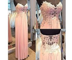 Blush Pink Prom Dresses,A-Line Prom Dress,Lace Prom Dress,Simple Prom Dress,Chiffon Prom Dress,Simple Evening Gowns,Cheap Party Dress,Elegant Prom Dresses,Formal Gowns For Teens