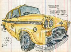 checker taxi by lapin barcelona, via Flickr