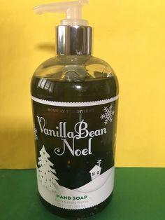 Bath & Body Works Vanilla Bean Noel Pump Hand Soap Large